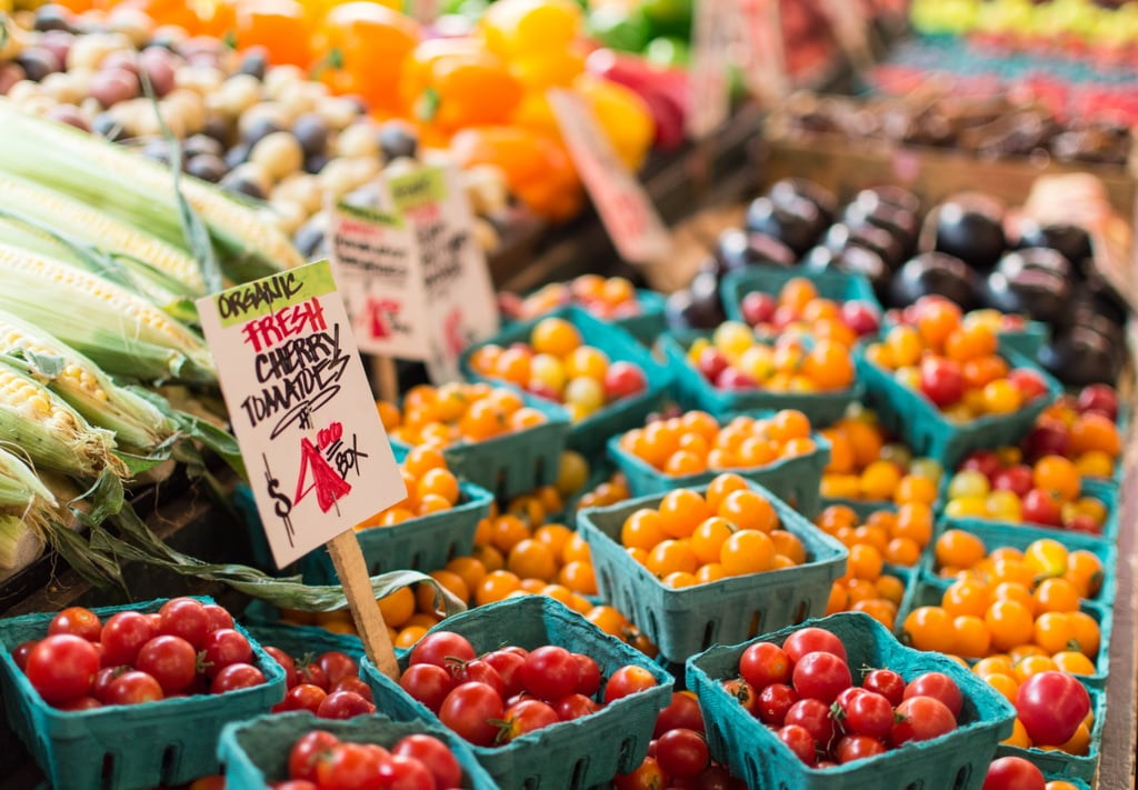 Eat your way through a farmers market.