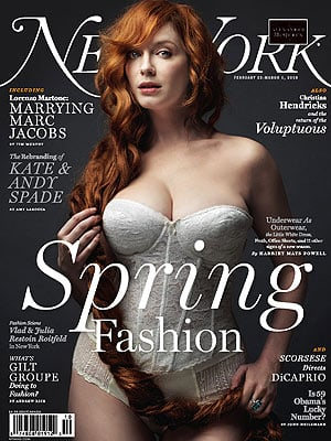 Mad Men Actress Christina Hendricks Covers New York Magazine: Hurt by the Scrutiny Over Her Body
