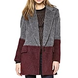 You'll get twice the outfit oomph from this two-toned and textured Rag & Bone Colorblock Dust Bowl Coat ($995).