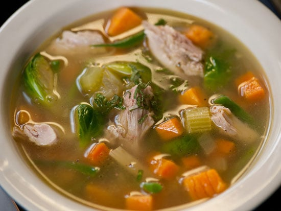 Next-Day Turkey Soup