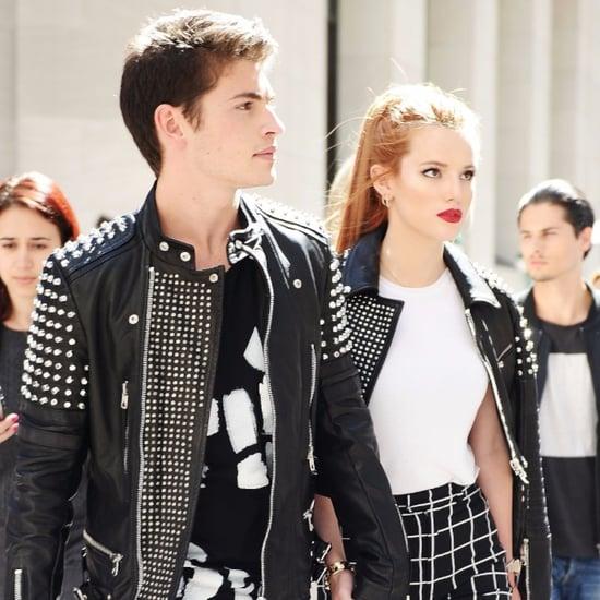 Bella Thorne and Gregg Sulkin at New York Fashion Week