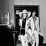 Former Beatle George Harrison arrived with his wife Pattie Boyd in 1968.