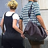 Scarlett Johansson's Short Hair From the Back