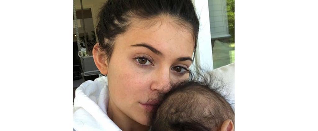 Kylie Jenner Shows Her Freckles on Instagram Story