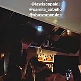 Lewis Capaldi at Grammys Afterparty With Niall Horan