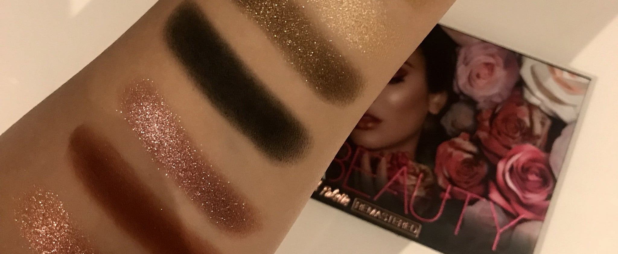 Huda Beauty Rose Gold Remastered Review