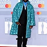 Burna Boy on the 2020 BRIT Awards Red Carpet