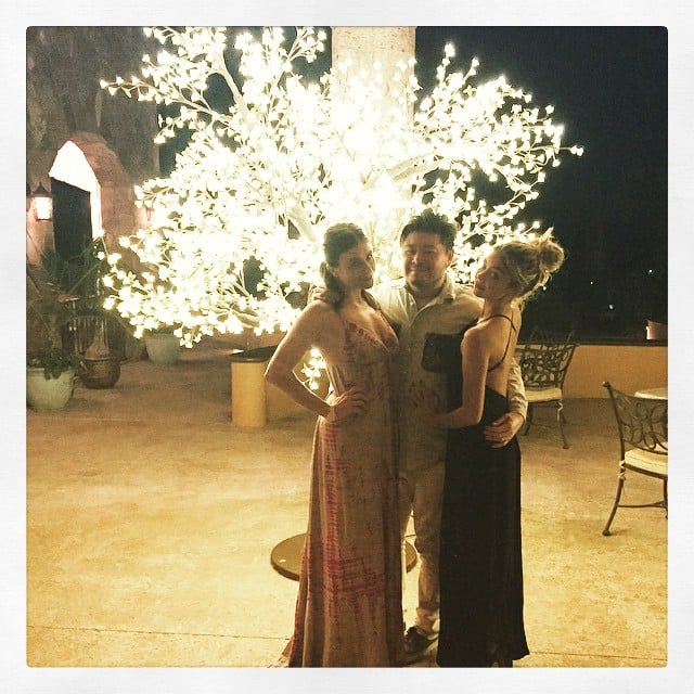 Sarah Hyland celebrated Christmas in Mexico.