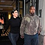Kim Kardashian's No-Makeup Makeup in 2019