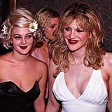 Drew Barrymore and Courtney Love, 1995