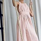 Etsy Crossback Linen Dress