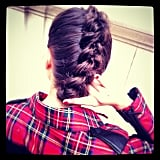 The best accessory for Karl Lagerfeld's new line? A killer braid, of course. Source: Instagram user karllagerfeld