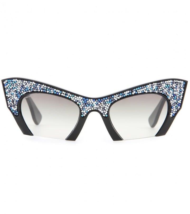 51ccfefa30d9 Miu Miu Embellished Sunglasses ( 423)