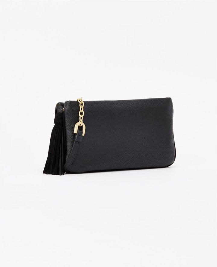 Ann Taylor Double Gusset Crossbody Bag ($98)