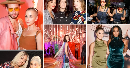 Kylie Jenner and Hari Nef Partied at New York Fashion Week