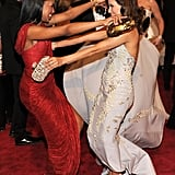 Has anyone ever been as happy to see their friend than Kerry Washington was in 2010 when she laid eyes on Eva Longoria?