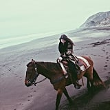 Book a horseback riding adventure on the beach.