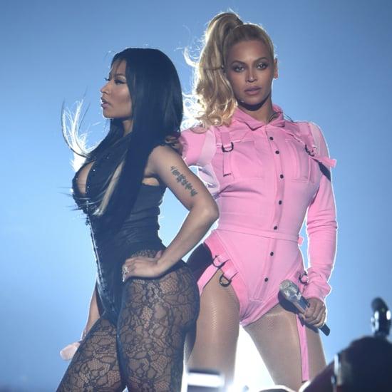 Beyonce and Nicki Minaj Behind-the-Scenes Rehearsal Video