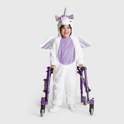 Kids Plush Adaptive Unicorn Halloween Costume