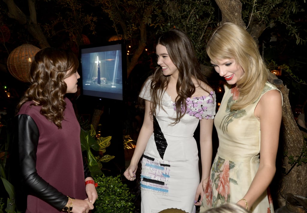 Bailee Madison chatted with Hailee Steinfeld and Taylor Swift.