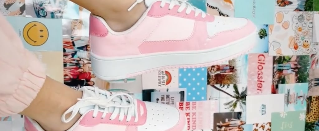 TikTokers Transform $15 Walmart Sneakers With Paint | Videos