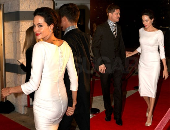 Photos of Angelina Jolie and Brad Pitt at LA Premiere of Curious Case of Benjamin Button With Cate Blanchett, Jennifer Lopez