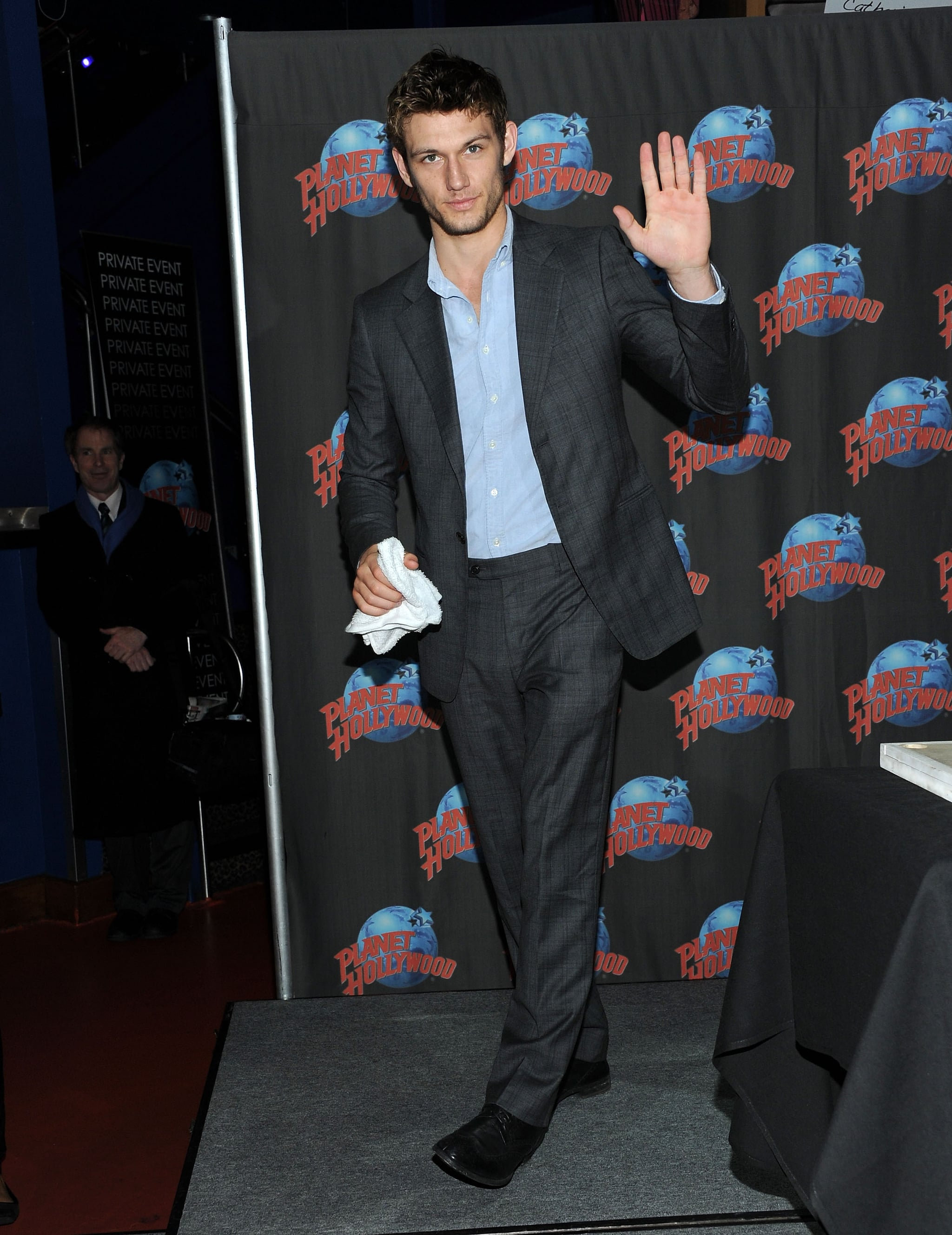 alex pettyfer at hand print ceremony at planet hollywood