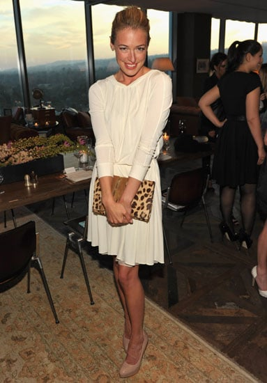 Cat Deeley proudly wore Brian Atwood heels to the designer's own Instyle and CDFA event in April.