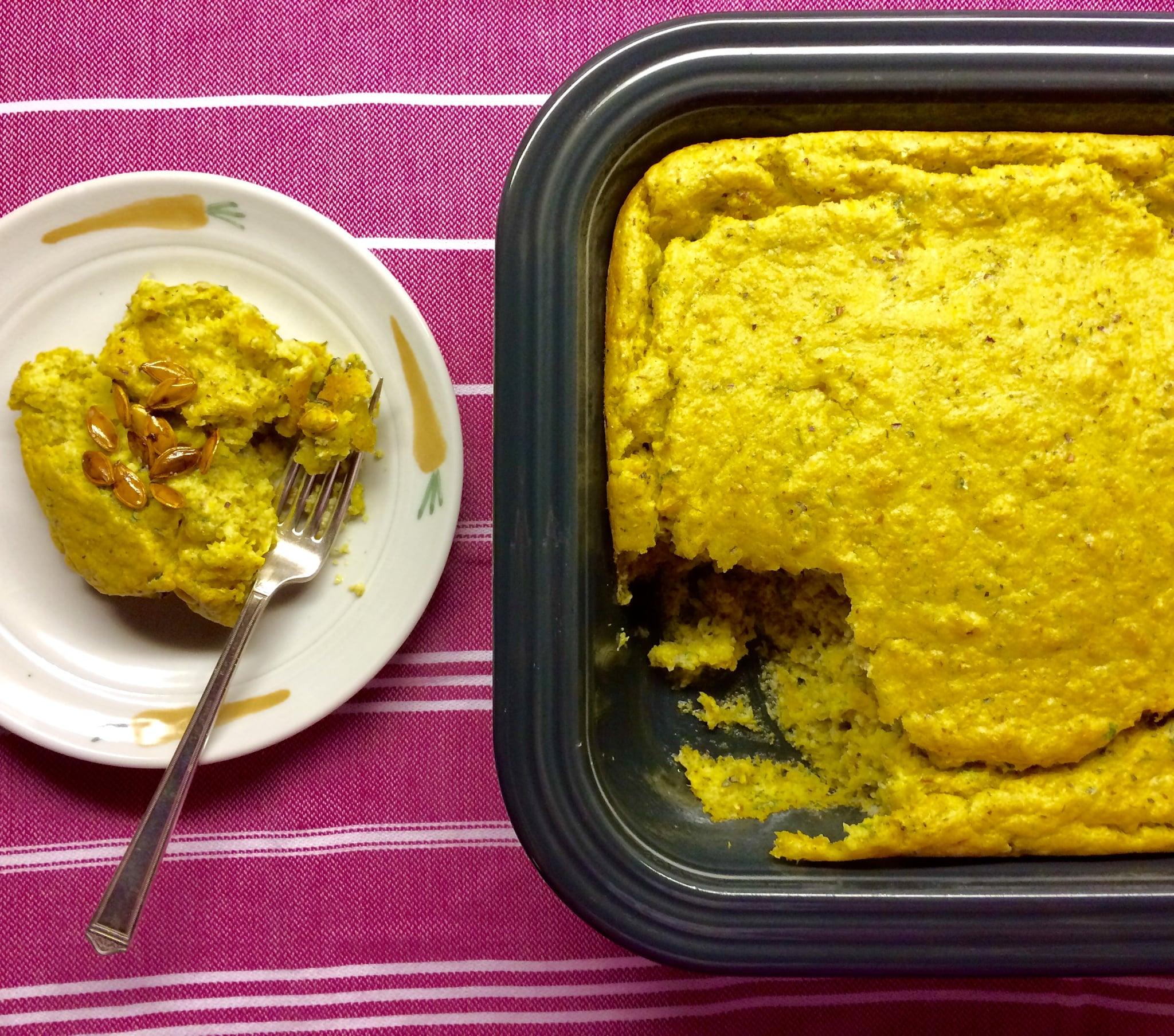 Carla halls pumpkin spoon bread recipe popsugar food share this link forumfinder Image collections
