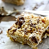 Cookie Butter Rice Crispy Treats