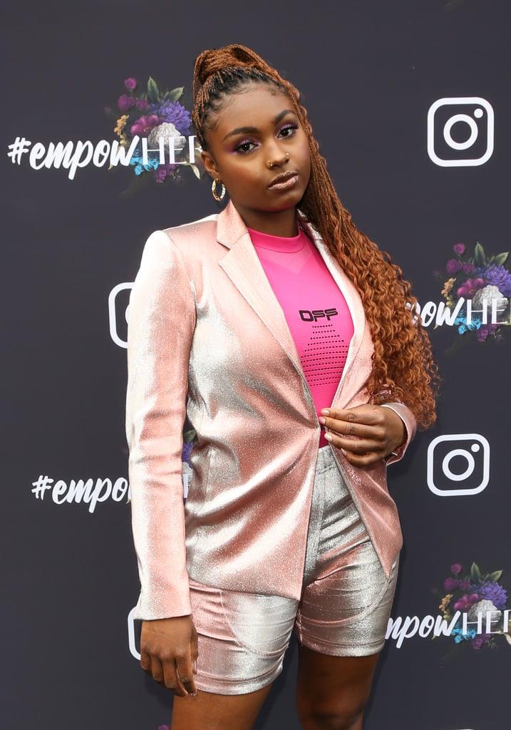 Tiana Major9 at Instagram's 2020 Grammy Luncheon in LA