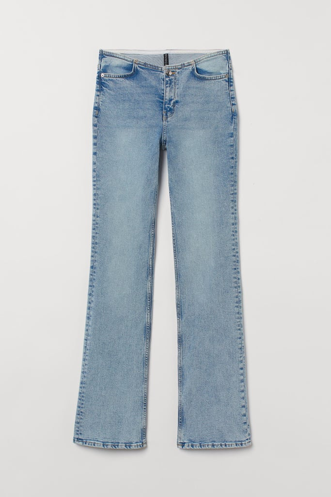 Flared Low Waist Jeans
