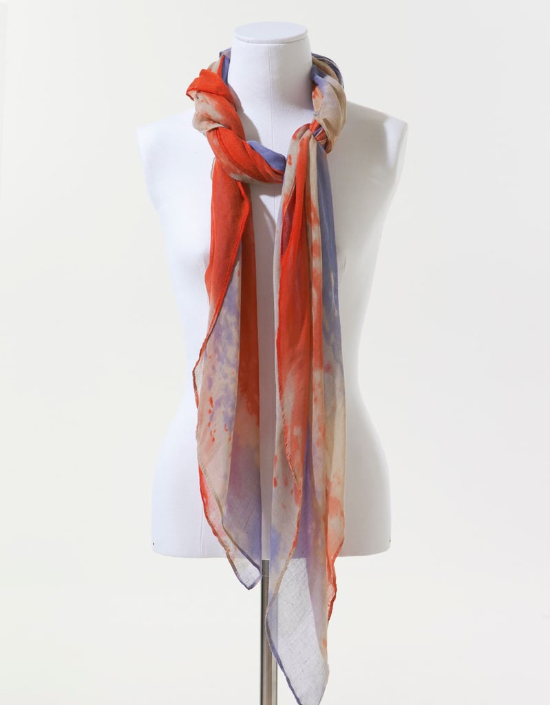 The delicate fabric and dip-dyed hues make this scarf a perfect Spring accessory. Zara English Flag Scarf ($20)