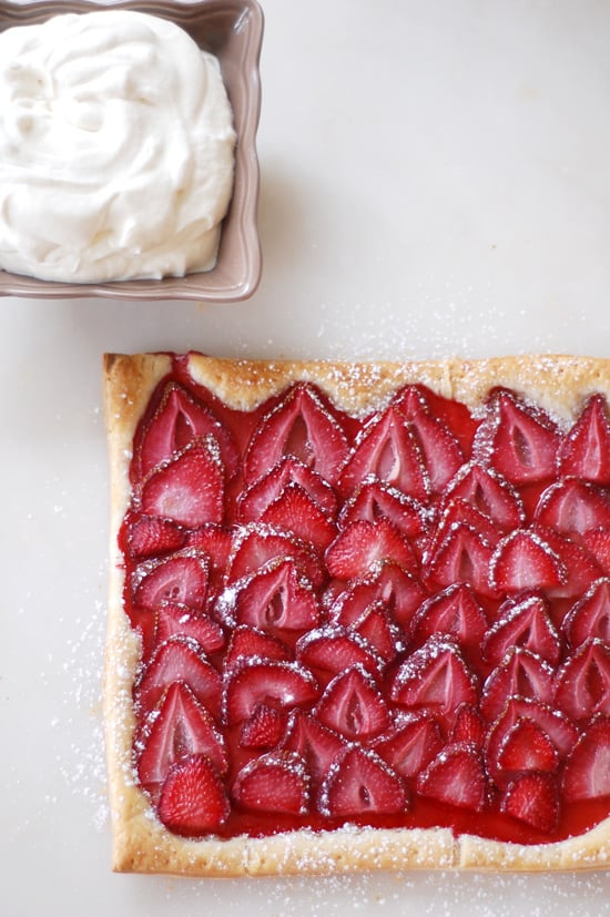 Easy Strawberry Puff Pastry Tart