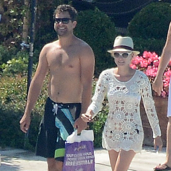 Joshua Jackson Shirtless With Diane Kruger | Pictures