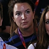 Kate Middleton cheered on Team GB at the women's flyweight boxing final.