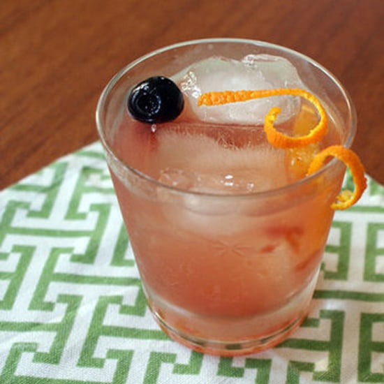 Gin Old Fashioned Cocktail Variation