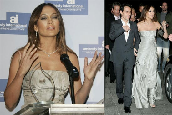 Jennifer Lopez Receives Amnesty International Award