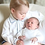 The photos weren't released until early June and were first shared on the Kensington Palace Twitter account.