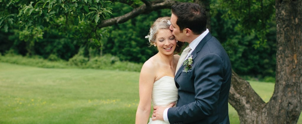 You Can't Deny How Romantic This Bright Floral Wedding Is