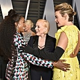 Pictured: Angela Bassett, Holland Taylor, and Sarah Paulson