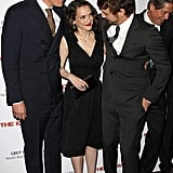 Winona Ryder, Michael Shannon, and James Franco linked up for a screening of The Iceman in NYC.