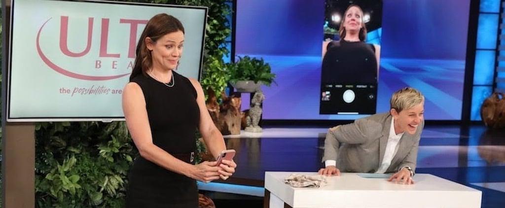 Jennifer Garner on The Ellen DeGeneres Show 2018 Video