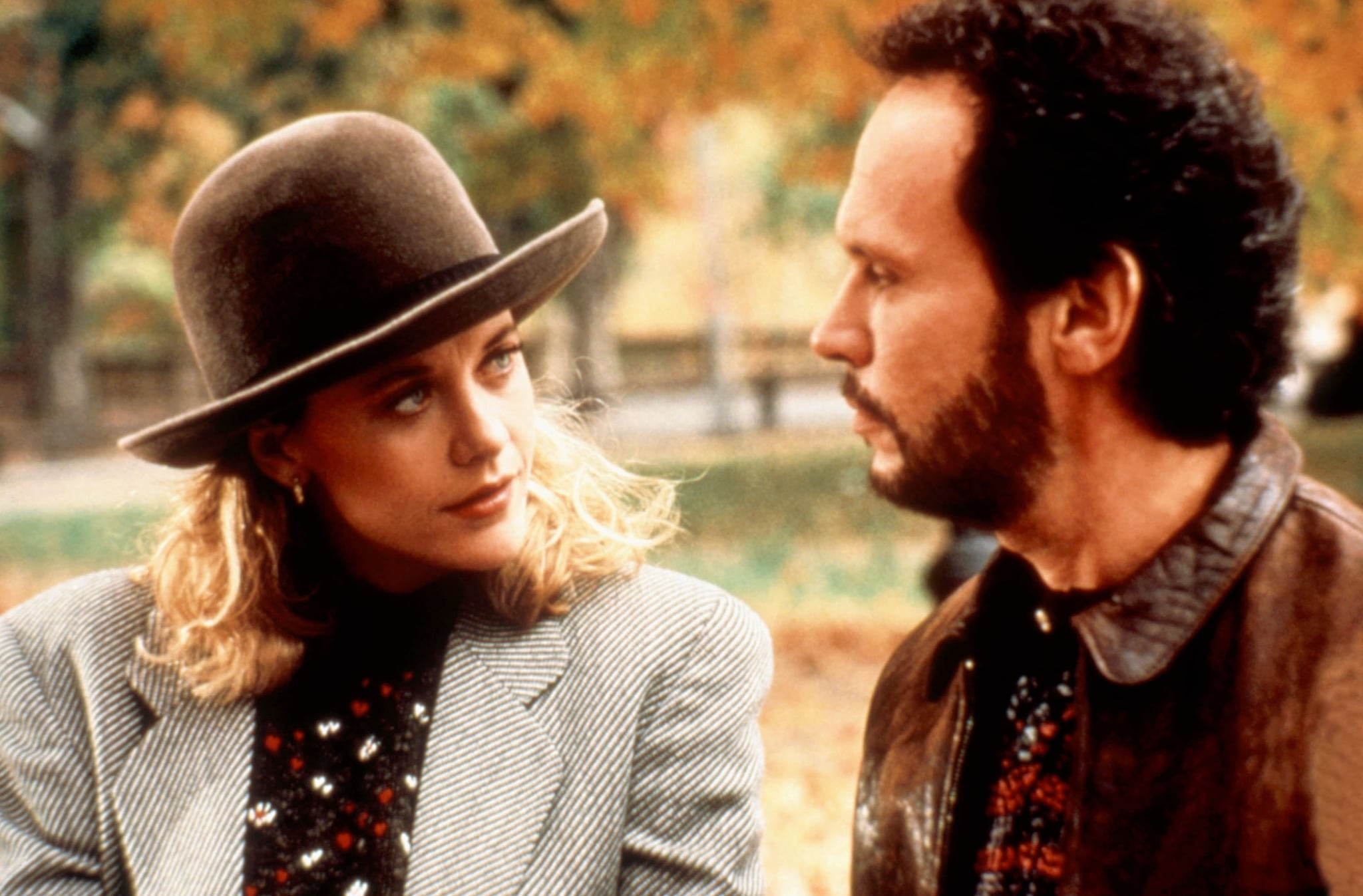 WHEN HARRY MET SALLY..., Meg Ryan, Billy Crystal, 1989. (c) Columbia Pictures/ Courtesy: Everett Collection.