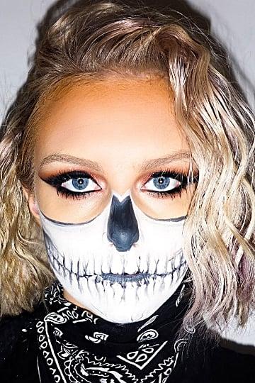 Skeleton Makeup Ideas For Halloween