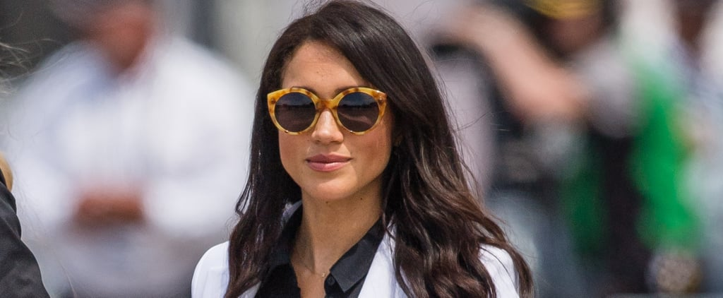 Meghan Markle Wearing Illesteva Sunglasses October 2018