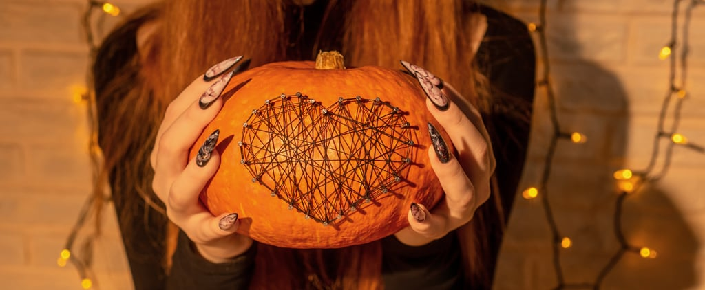 17 Halloween Stiletto Nail Art Ideas and Photos