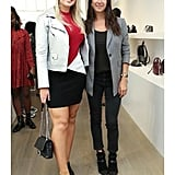 Iskra Lawrence Hung Out With Rebecca Minkoff at the Store