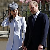 See More Pics of Kate in Her Easter Coat