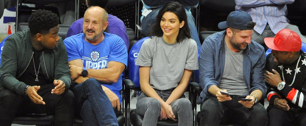 We're Thankful Kendall Jenner Sat Courtside, Because You Need a Better Look at Her Boots